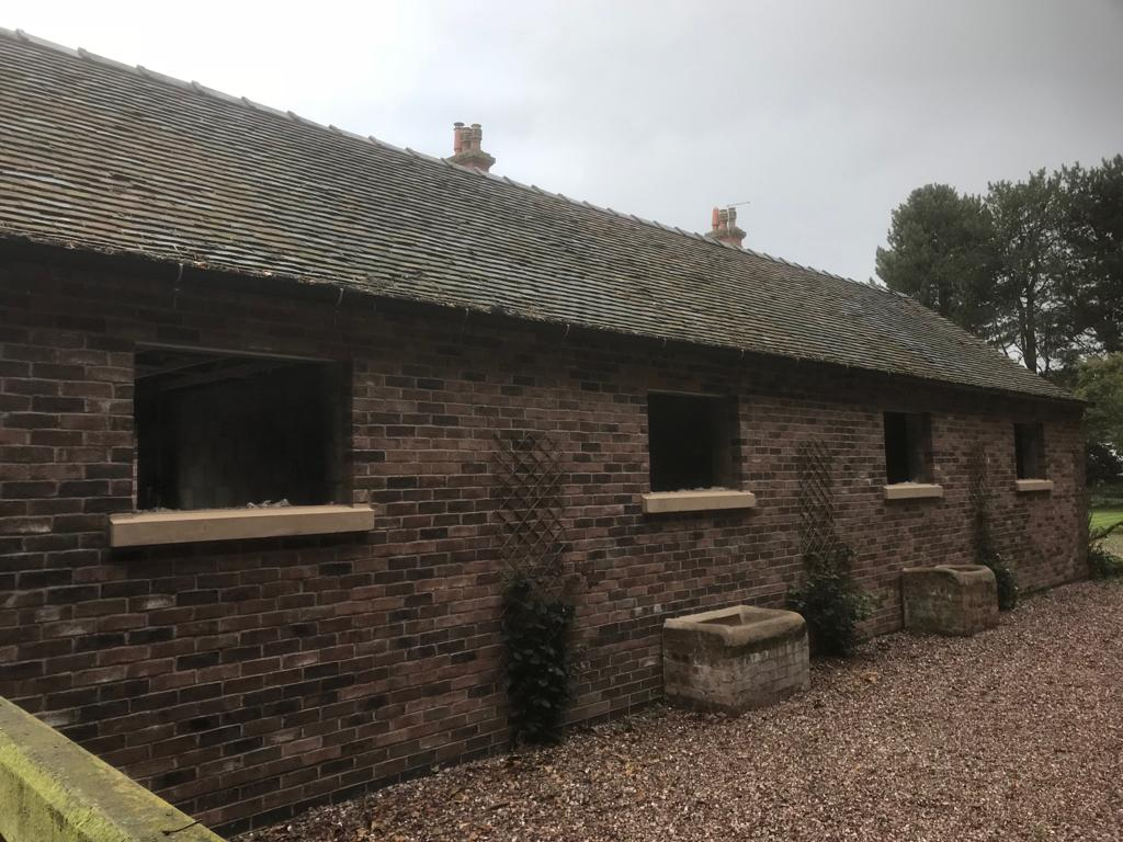 Complete New Build Start To Finish Garages And Stable